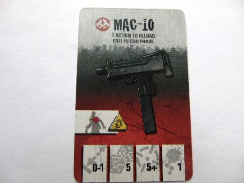 survivor equipment card (mac-10)